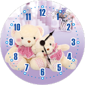 Teddy Bear Clock Free icon