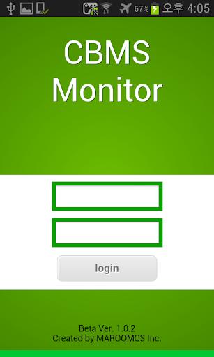 CBMS Monitor MAROOMCS