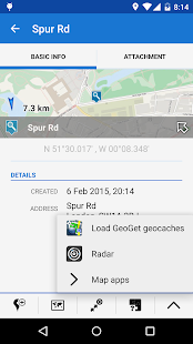 Locus - addon GeoGet Database- screenshot thumbnail