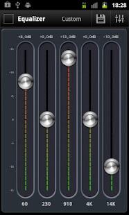 AnEq Equalizer: miniatura de captura de pantalla