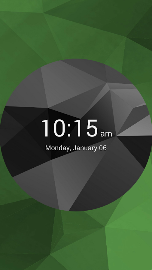 Simple Digital Clock - screenshot