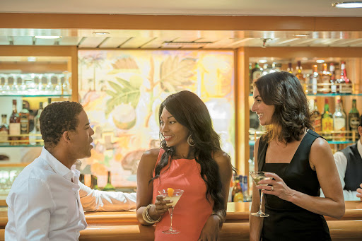 Strike up a conversation and meet interesting people in the Main Lounge of Tere Moana.