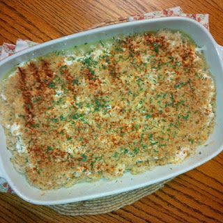 Glazed Rice Pilaf With Chive Sour Cream Sauce