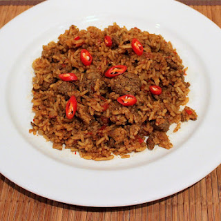Spicy Beef and Rice
