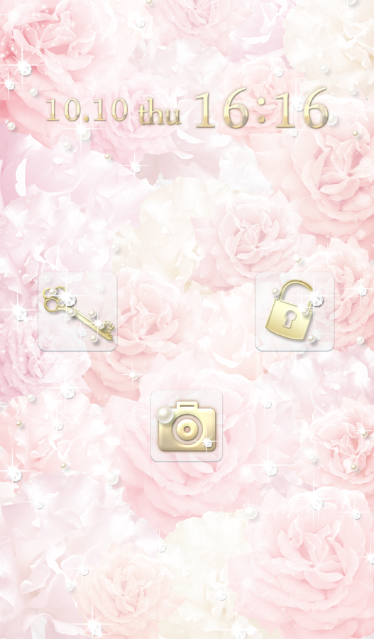 Cute wallpaper★Shiny Rose - screenshot