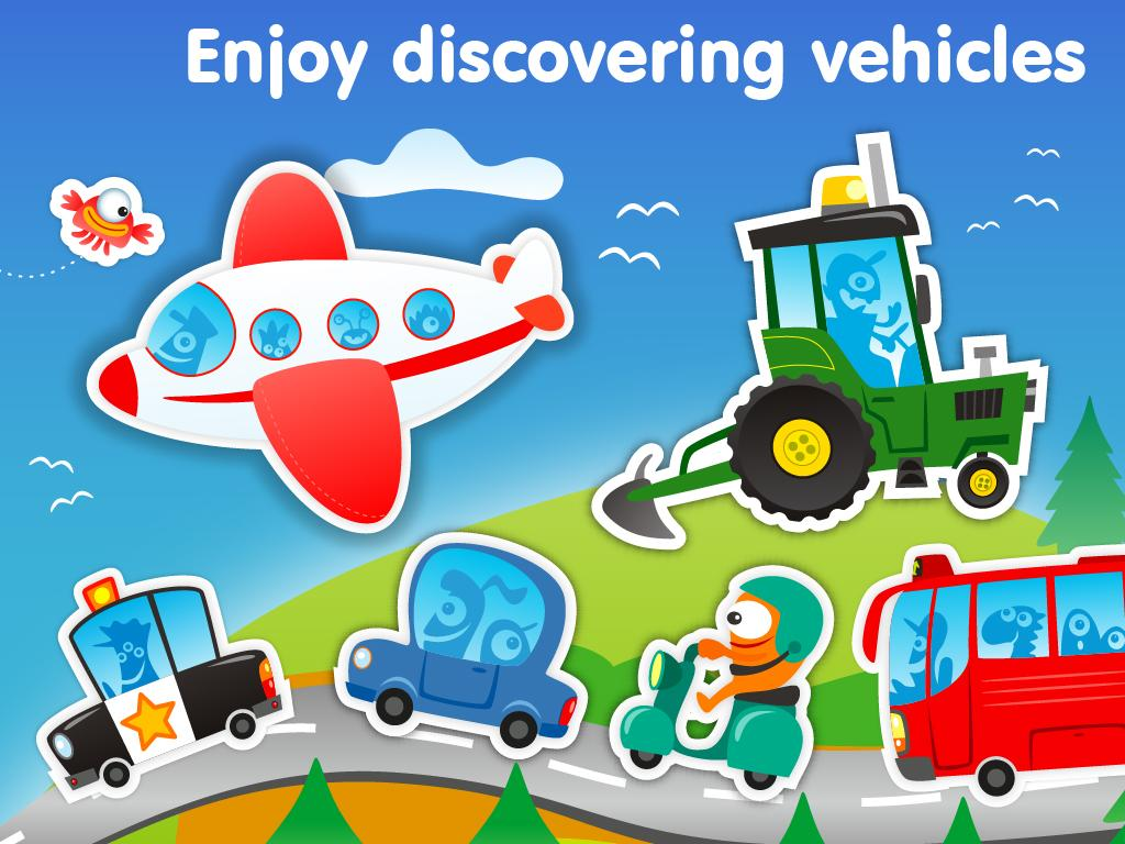 Planet Go: vehicles games kids - screenshot