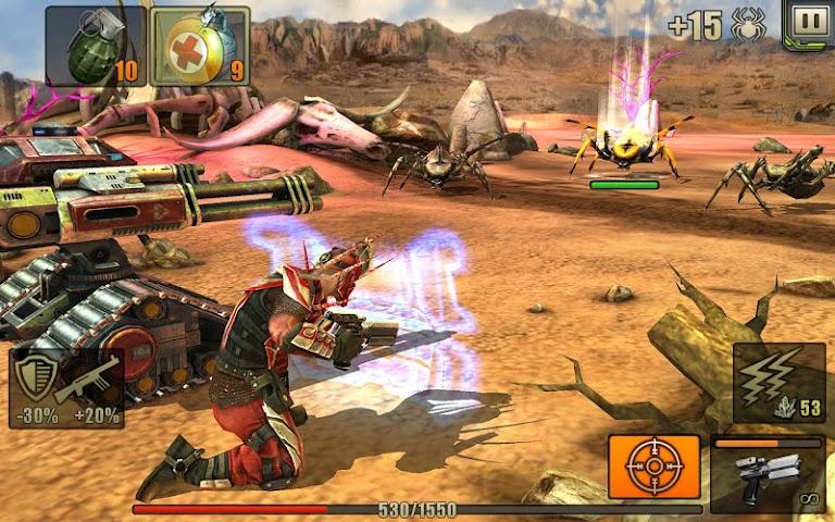 android Evolution: Battle for Utopia Screenshot 13