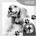 Cute Dog Theme for GO Locker icon