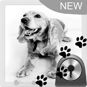 Cute Dog Theme for GO Locker