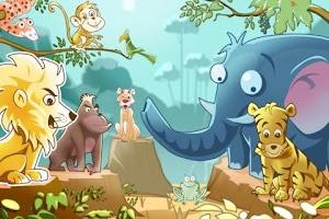 Screenshot of Funny Animals Jungle