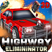 Highway Eliminator : Car Fight