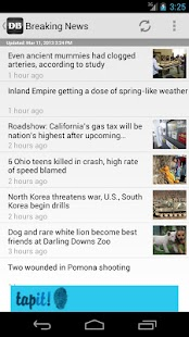 Inland Valley Daily Bulletin - screenshot thumbnail
