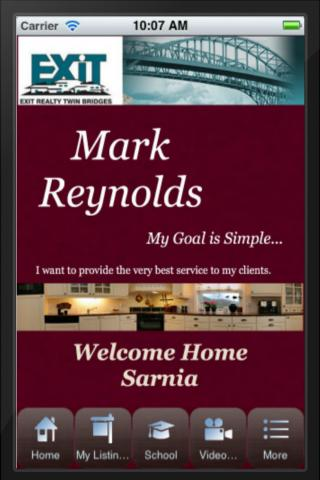 Sarnia Real Estate App - Mark