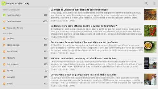 【免費新聞App】Aux Frontières de la Science-APP點子