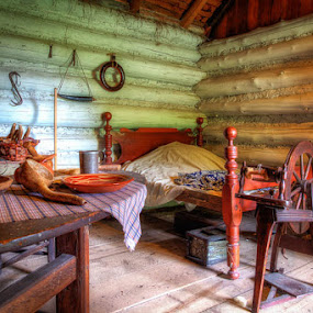 Log Cabin by Kevin Case - Buildings & Architecture Public & Historical ( kevin case, kevdia photography, kevdia photo )