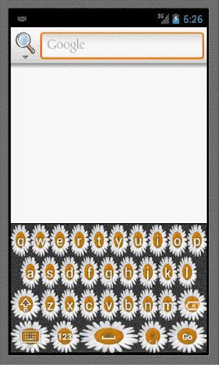 Daisies keyboard