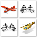 Kid Memory : Car, spaceship .. icon