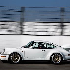 Porsche on track by Patrick Quispel - Sports & Fitness Motorsports ( classic porsche, track, porsche, autosport, motorsport, racetrack )