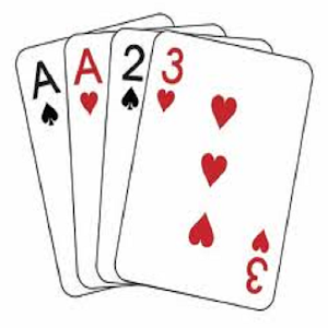 free 5 card draw poker solitaire cards