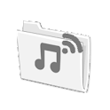 Wifi Folder Player icon