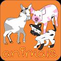 Lack-und Farb Tiere icon