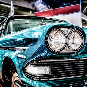 Stuck in a museum by Chris Thomas - Transportation Automobiles ( car, headlight, vntage, museum, henry ford,  )