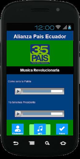 Rafael Correa Alianza Pais