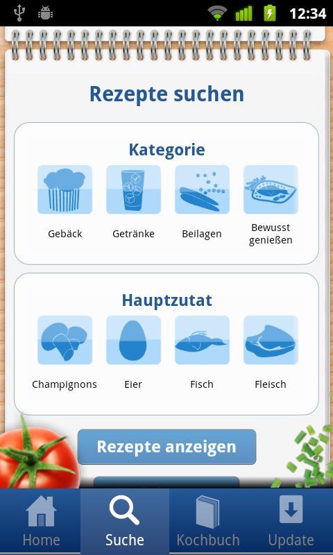 Toppits Rezepte - screenshot
