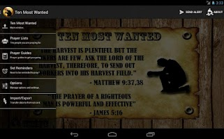 Screenshot of Ten Most Wanted