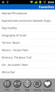 Israel - FREE Travel Guide - screenshot thumbnail