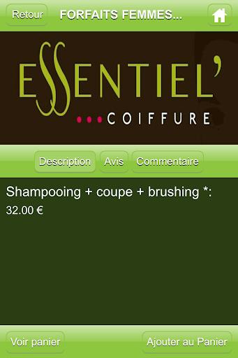 玩商業App|Essentiel Coiffure免費|APP試玩