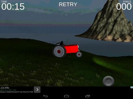 Hill Climb Tractor Racing 3D