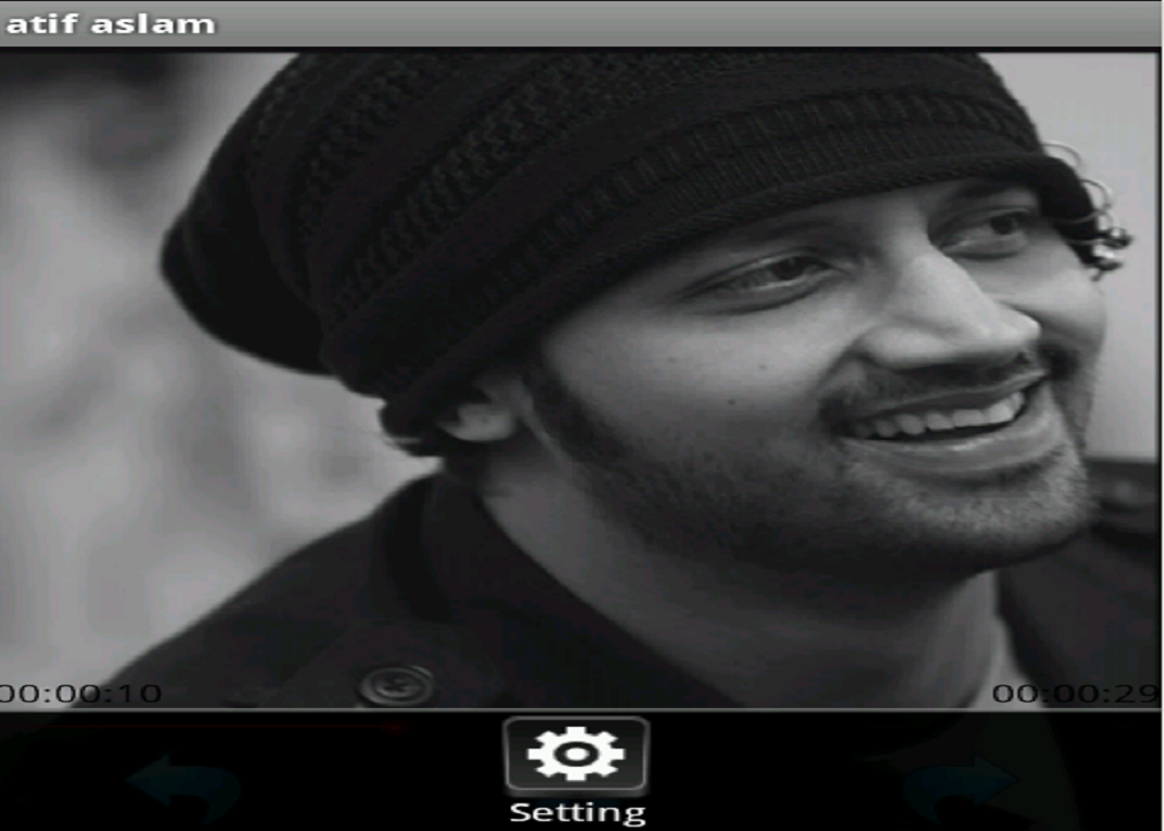 atif aslam - screenshot