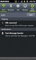Screenshot of Droid SmS Reader