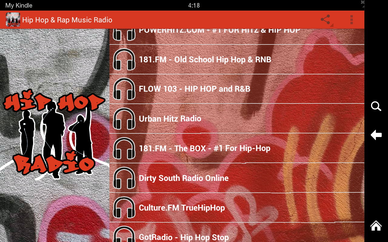 hip hop rap music radio android apps on google play. Black Bedroom Furniture Sets. Home Design Ideas
