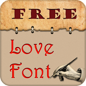 Free Fonts for Love Style
