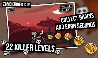 Screenshot of Zombie Rider Free