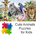 Cute Animals Puzzles for Kids icon