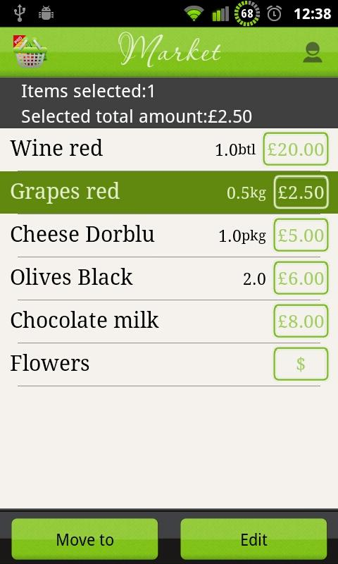 Let It Shop - Shopping List - screenshot
