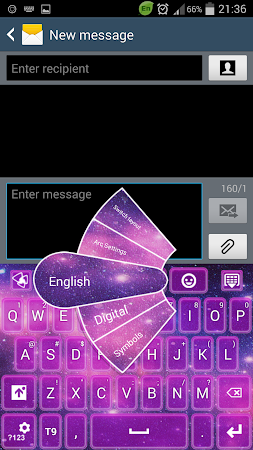 Keyboard Galaxy 3.1 screenshot 191970