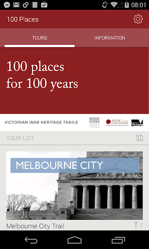 100 Places for 100 Years