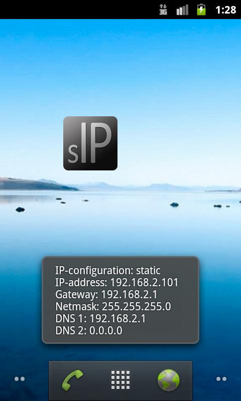 Static IP Toggle - screenshot
