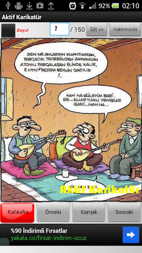 Komik Karikatür - Karikaturler