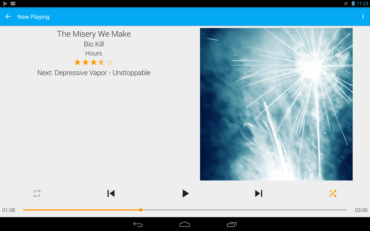 GoneMAD Music Player (Trial)- screenshot
