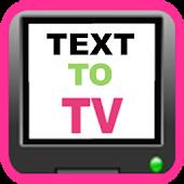 TextToTV (Chromecast app)