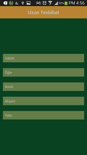Uzun Tesbihat Türkçe