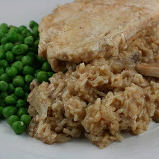 Crockpot Chicken and Brown Rice Casserole