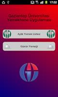 Screenshot of Gaziantep Üni. Yemek