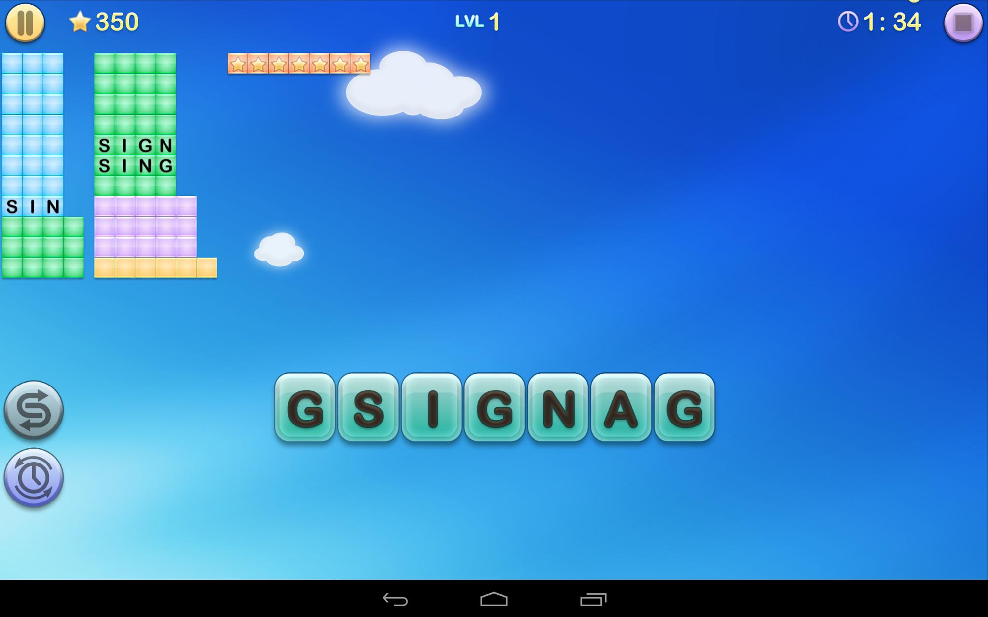 Jumbline 2 - word game puzzle screenshot #6