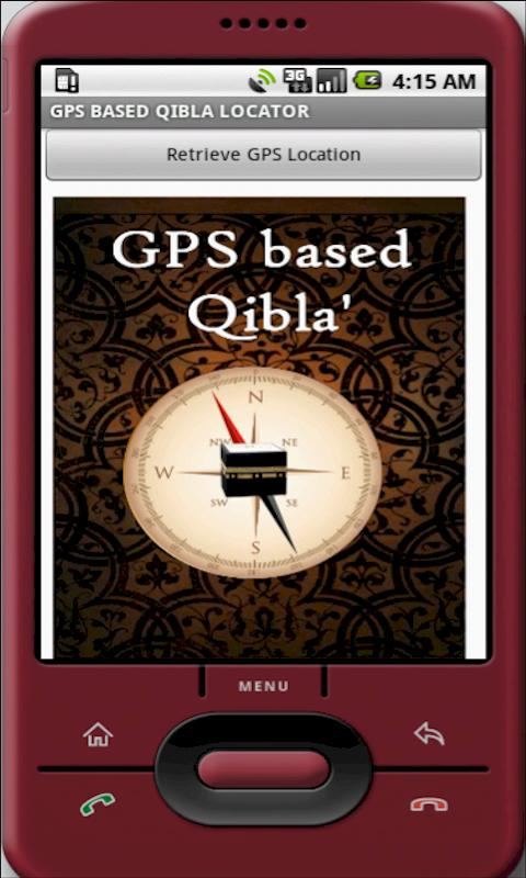 GPS QIBLA LOCATOR - screenshot
